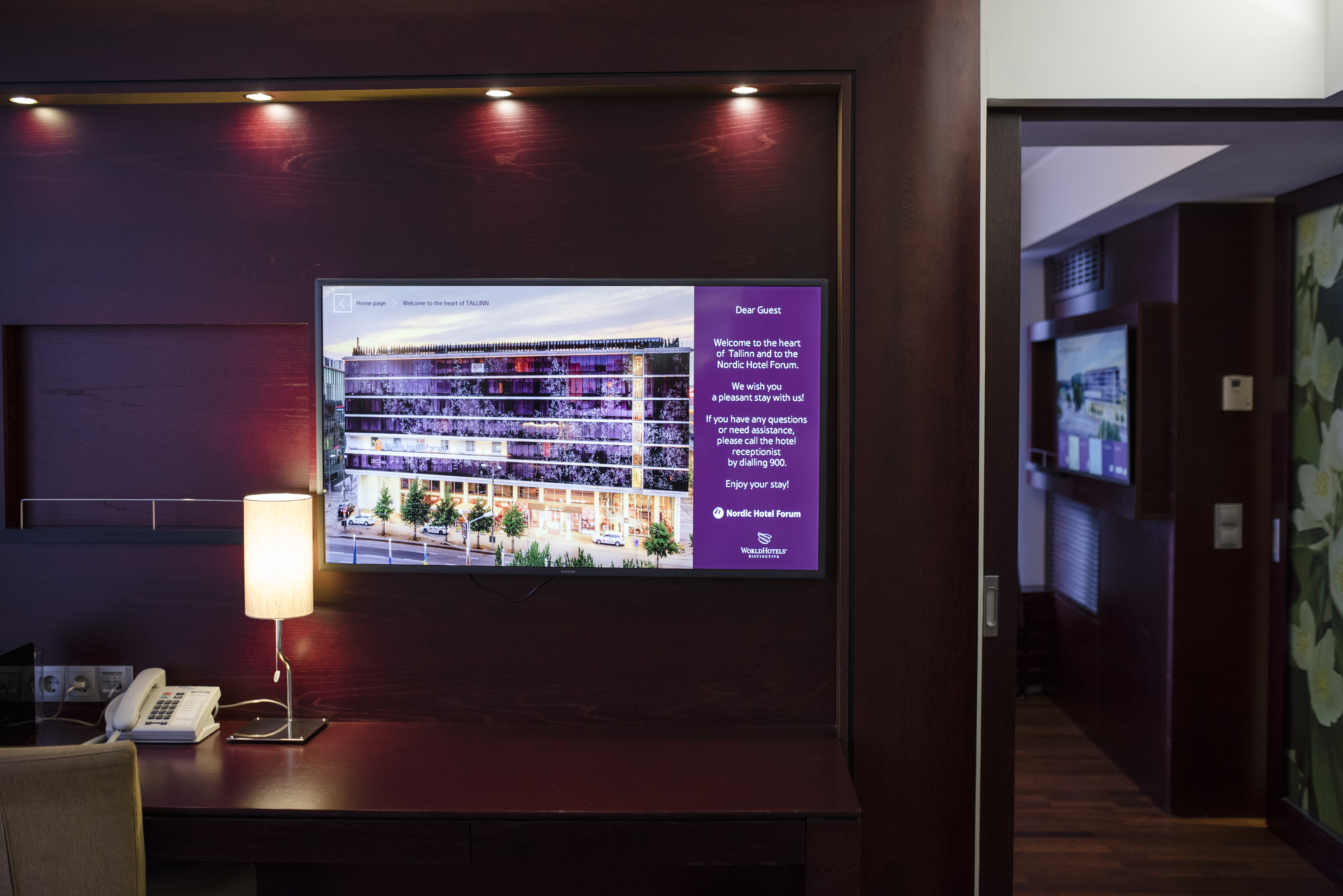 a67faa0128d Nordic Hotel Forum ekraanilahendused - Sound & Vision